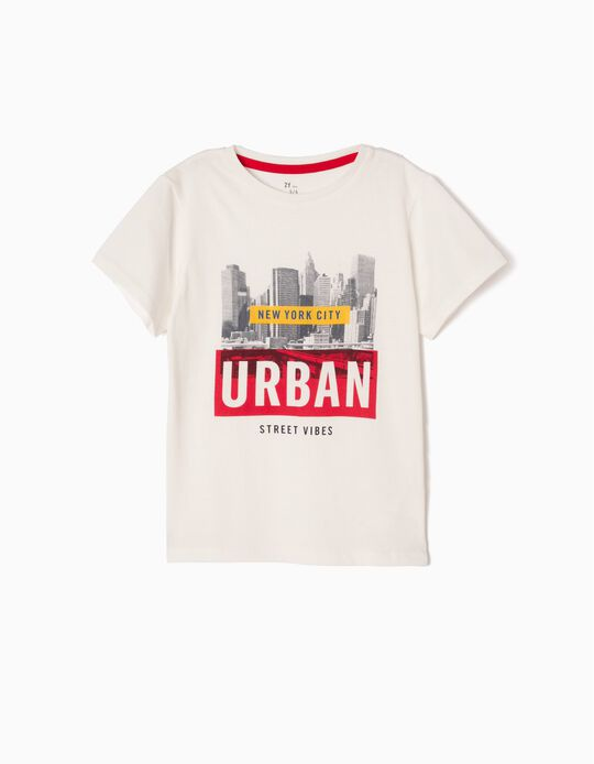 Camiseta New York City Blanca