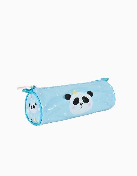 Estojo Redondo para Criança 'Ambar Pets Friends', Azul