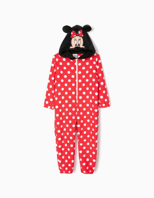 Pijama Mono para Niña 'Minnie', Rojo