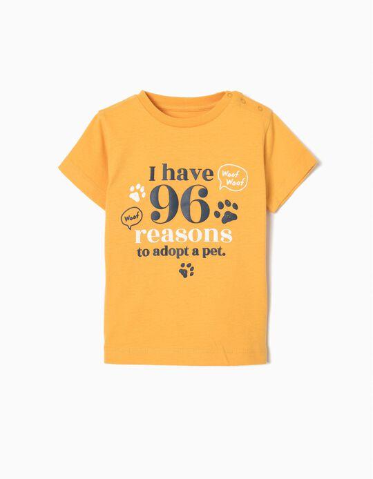 T-shirt Estampada Adopt A Pet