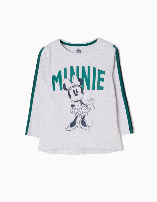 Camiseta de Manga Larga Minnie Kiss