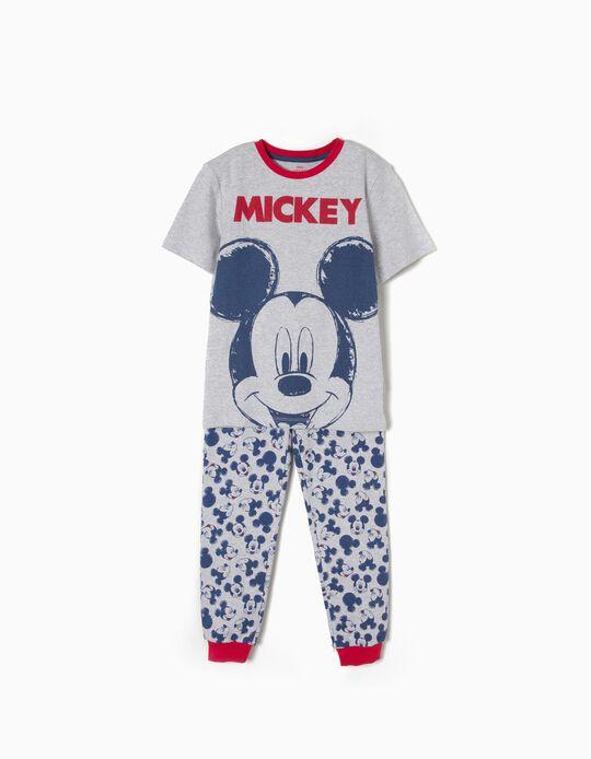 Pijama Manga Curta Mickey