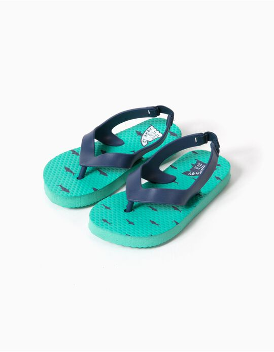 Chanclas de playa Shark