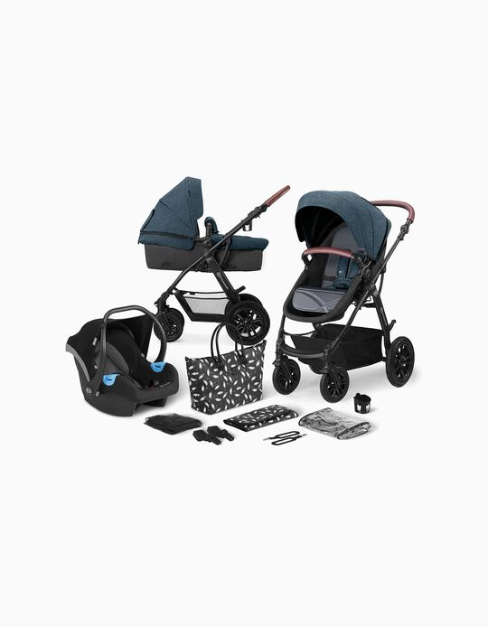 Xmoov Travel System by Kinderkraft, Denim