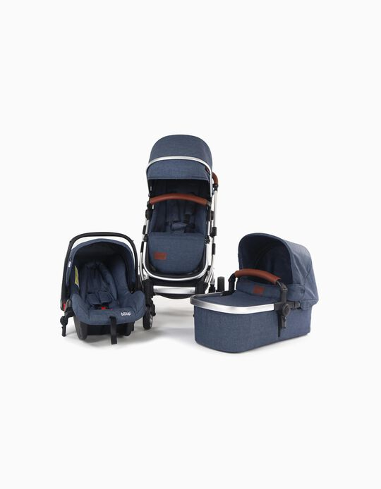 Trio Wimi Asalvo Pushchari, Navy Blue