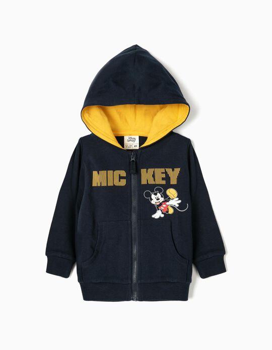Chaqueta para Bebé Niño 'Mickey', Azul Oscuro/Amarillo