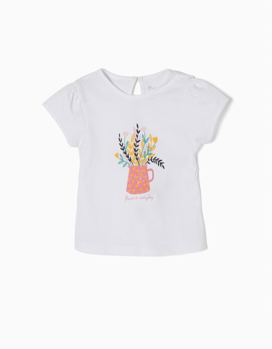 T-shirt Estampada Flowers Everyday