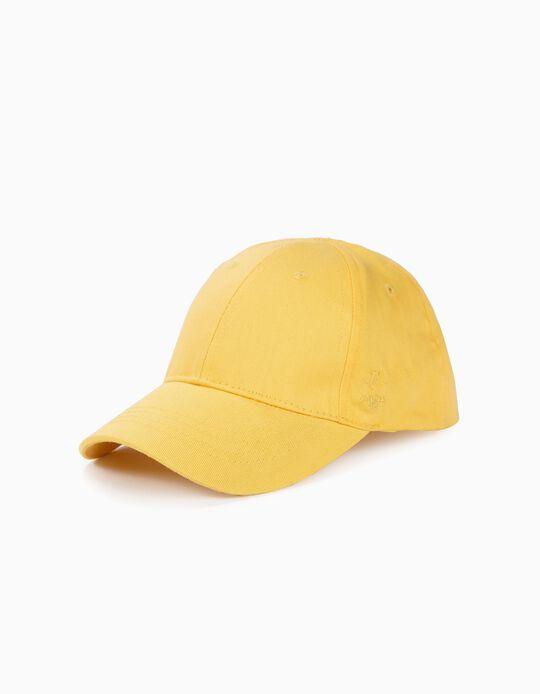 Gorra para Niña 'ZY 96', Amarilla