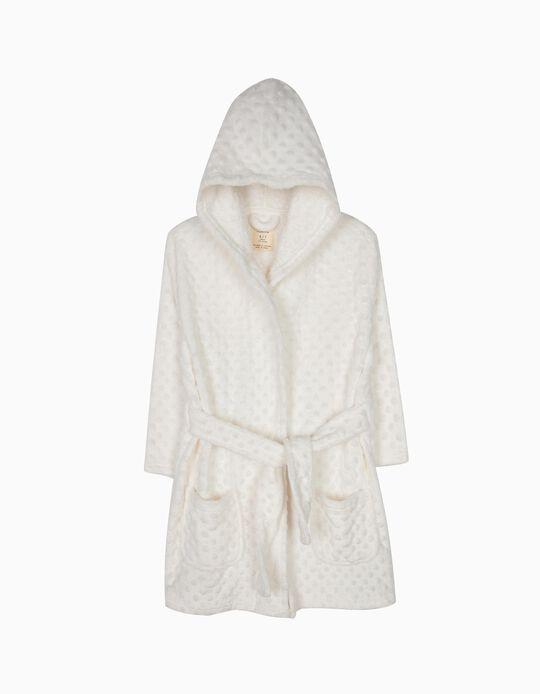Robe com Relevo Branco