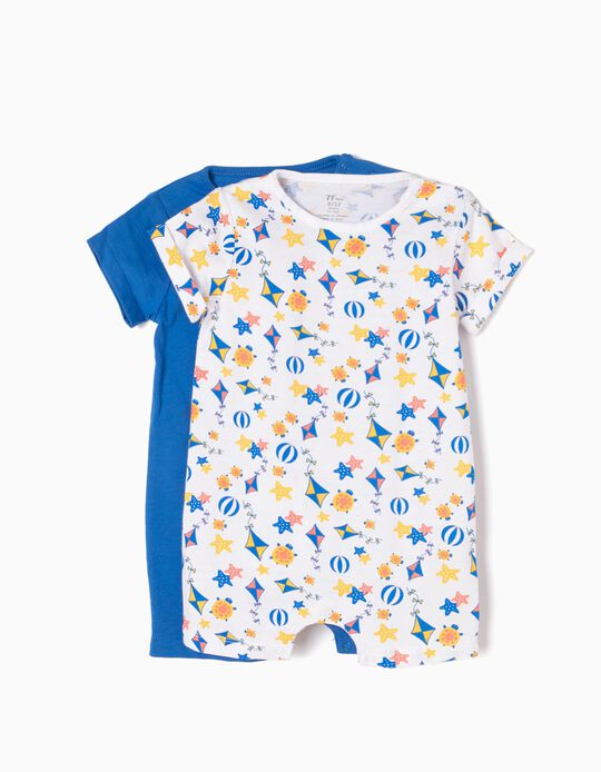 Pack 2 Babygrows Praia
