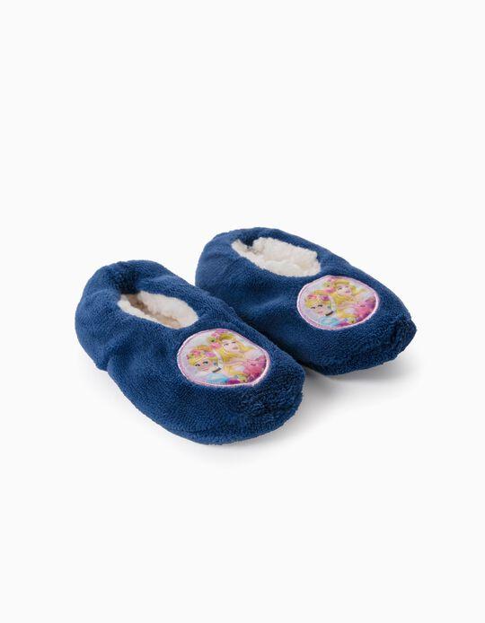 Zapatillas de Casa para Niña 'Disney Princesses', Azul Oscuro