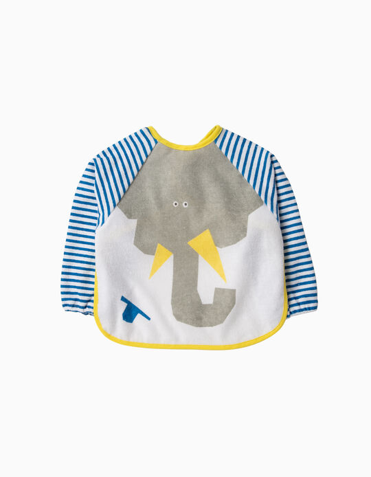 Bib with Sleeves, Elephant, Zy Baby