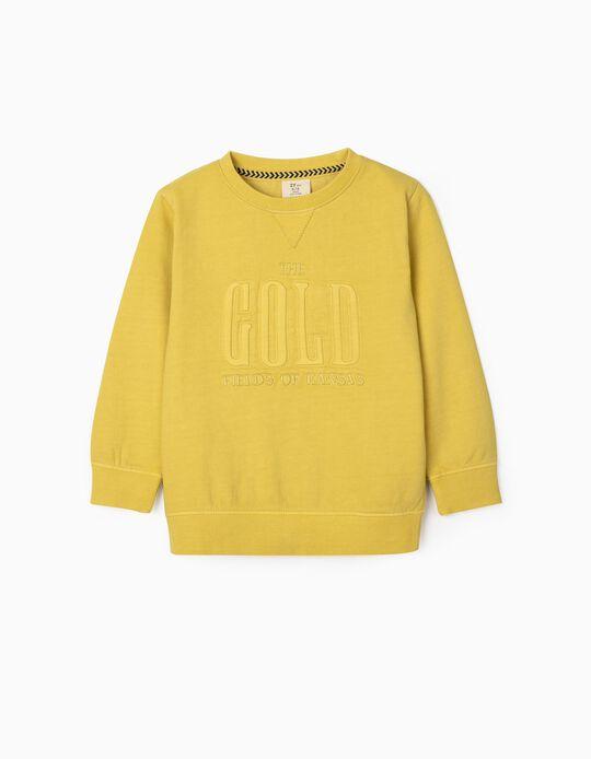 Sweatshirt para Menino 'Kansas', Amarelo