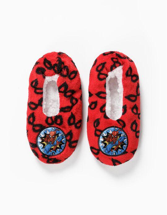 Zapatillas de Casa para Niño 'Spider-Man', Rojas