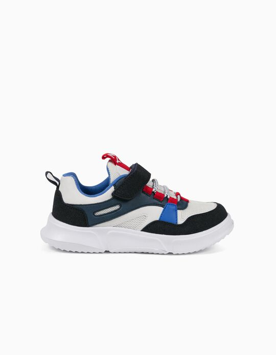 Zapatillas para Niño 'ZY Superlight Runner', Blanco/Azul/Rojo