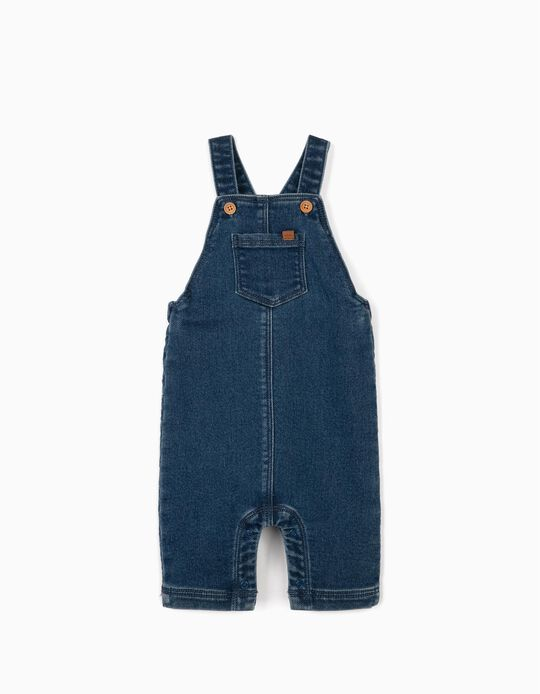 Dungarees for Newborn Babies, 'Comfort Denim', Blue