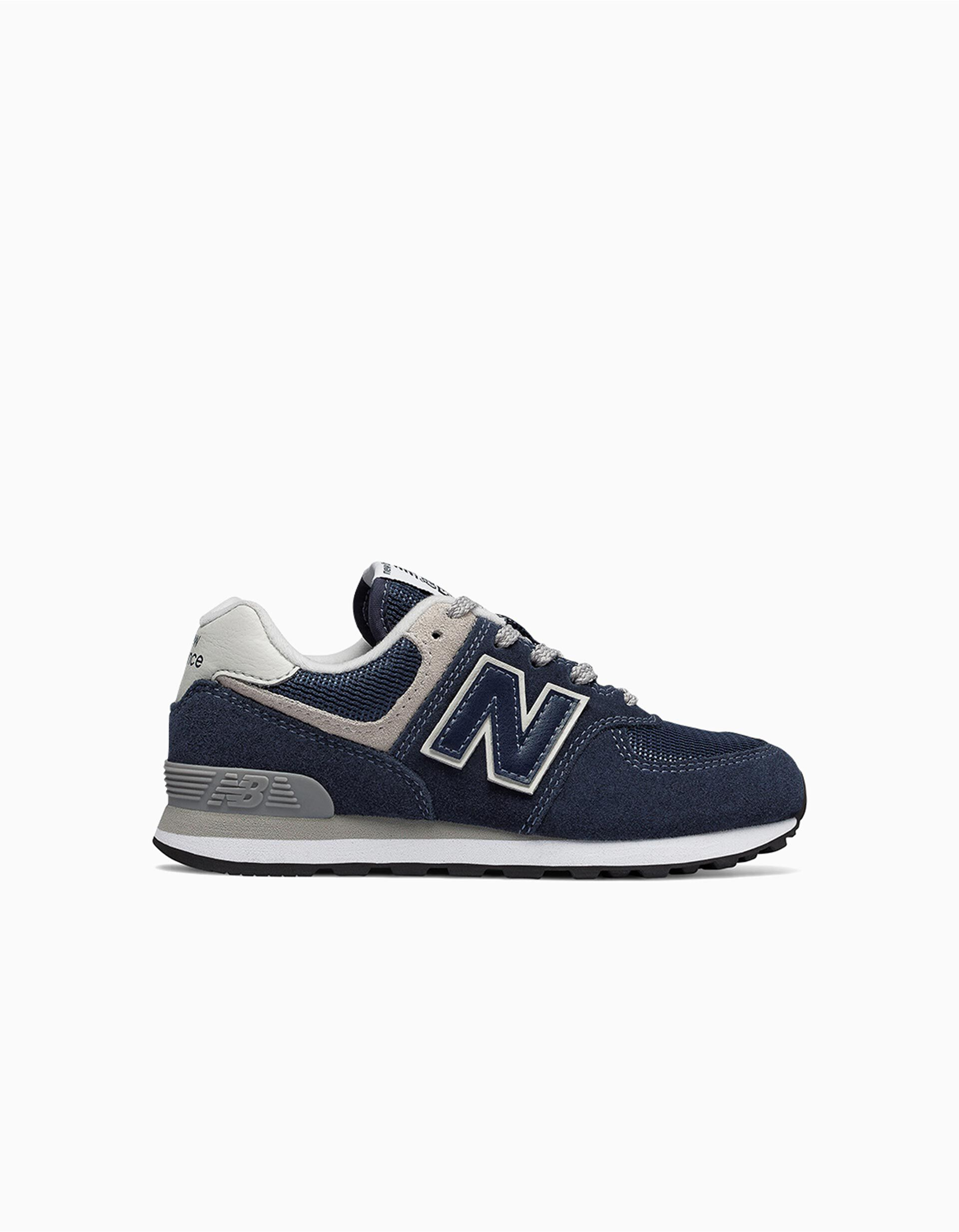 new balance 574 azul marino