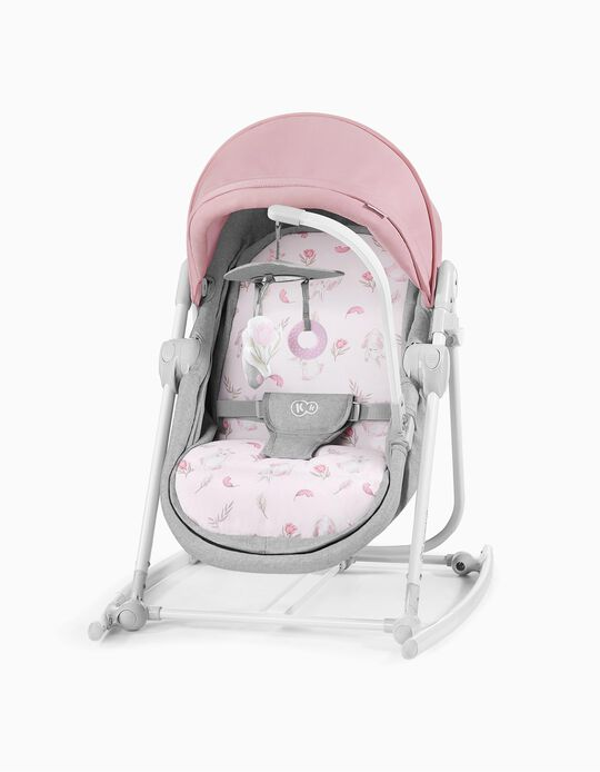 Baby Bouncer, Unimo by Kinderkraft, Peony Rose