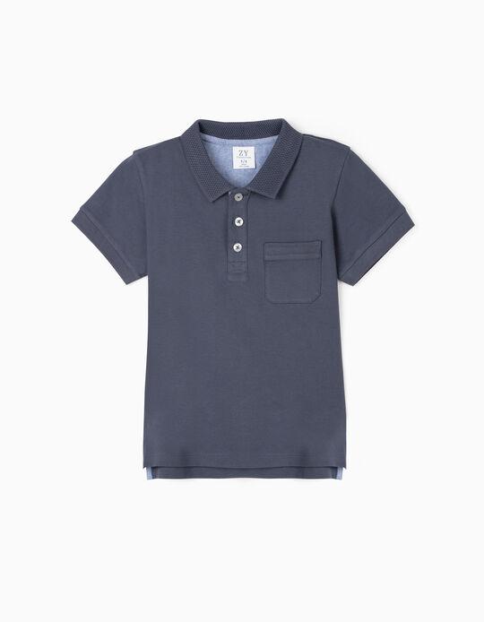 Polo Shirt for Boys, Blue