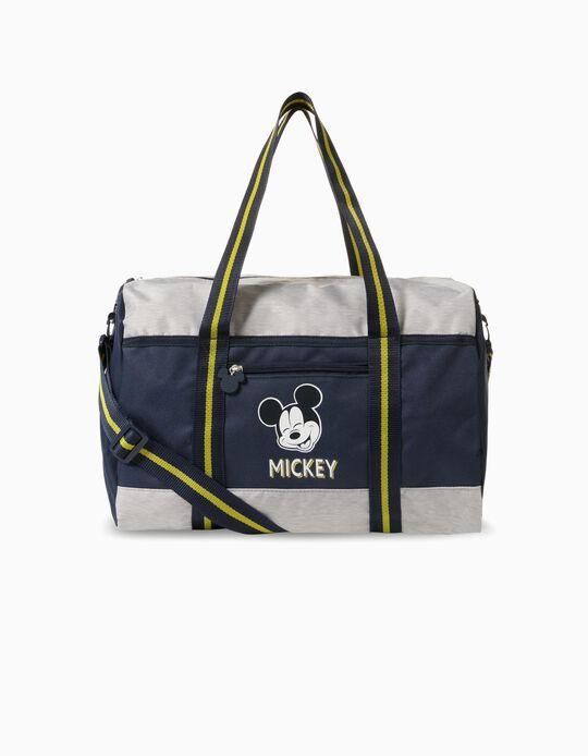 Sac de Sport Garçon 'Mickey', Gris/Bleu Foncé