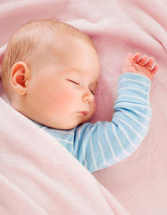 COBERTOR ANTIBACTERIANO 110X140 CM PIELSA BABY PINK