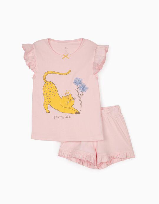 Pyjamas for Girls, 'Growing Wild', Pink