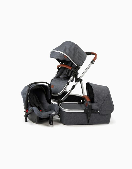 Travel System Trio Wimi Asalvo Grey