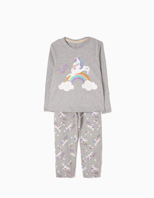 Pijama Manga Larga y Pantalón Unicorn