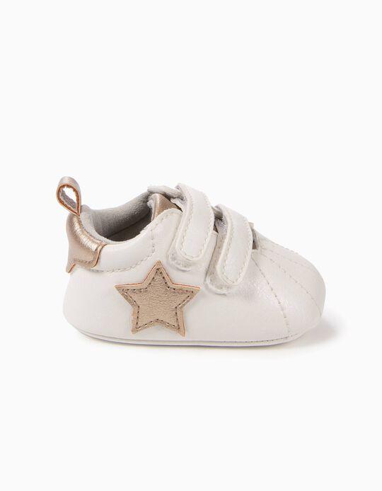 Sapatilhas Pre-Walker Estrelas Douradas