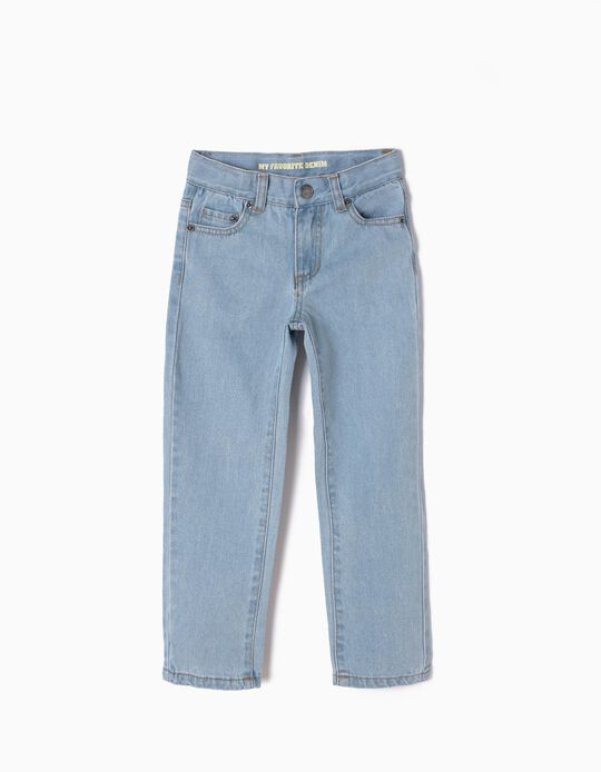 Jeans for Boys, Regular Fit, Light Blue
