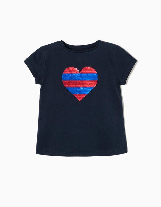 Camiseta de Lentejuelas Reversibles