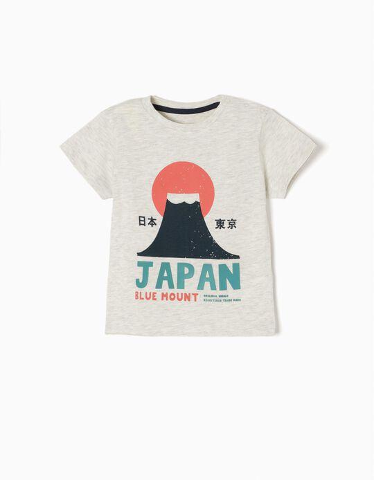 T-shirt Japan Cinzenta