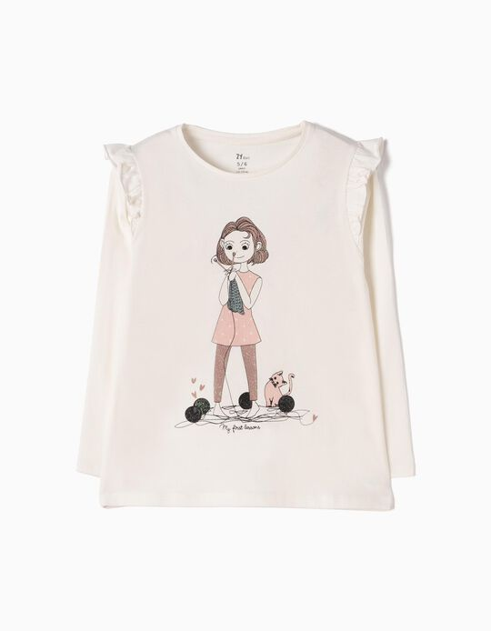 Camiseta de Manga Larga My First Lessons