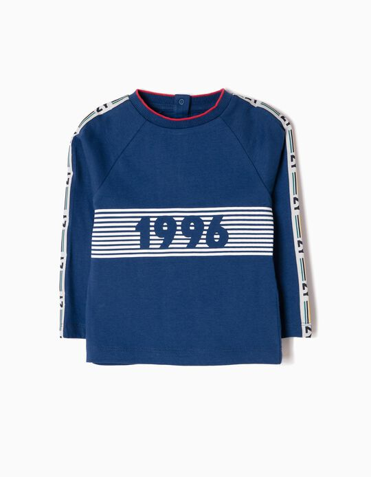 Camiseta de Manga larga ZY 1996 Estampada