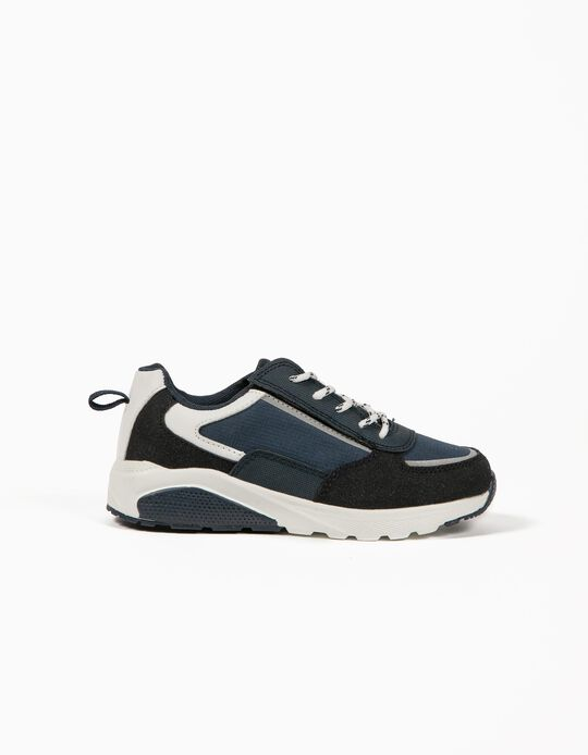 Trainers for Boys, 'ZY Easy', Dark Blue