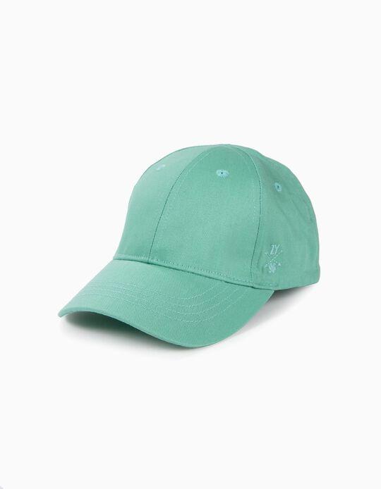 Gorra para Niña 'ZY 96', Verde Agua