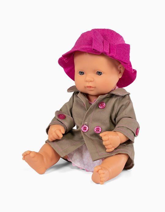 Boneca 32 cm e traje Miniland