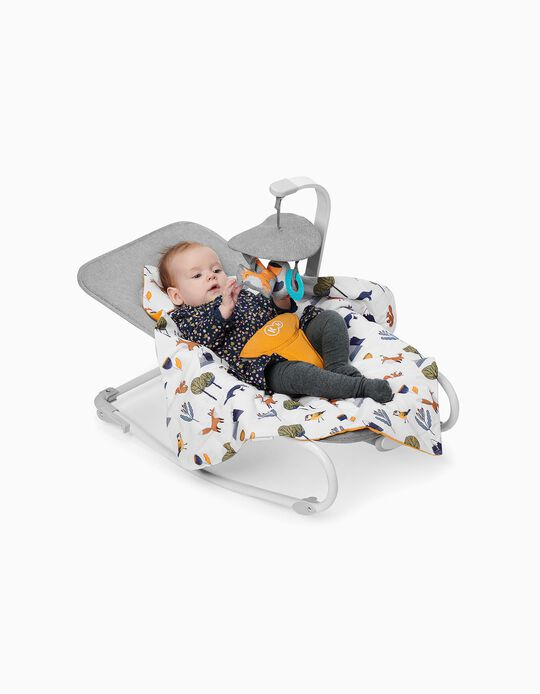 Baby Bouncer, Felio Stone Kinderkraft, Grey