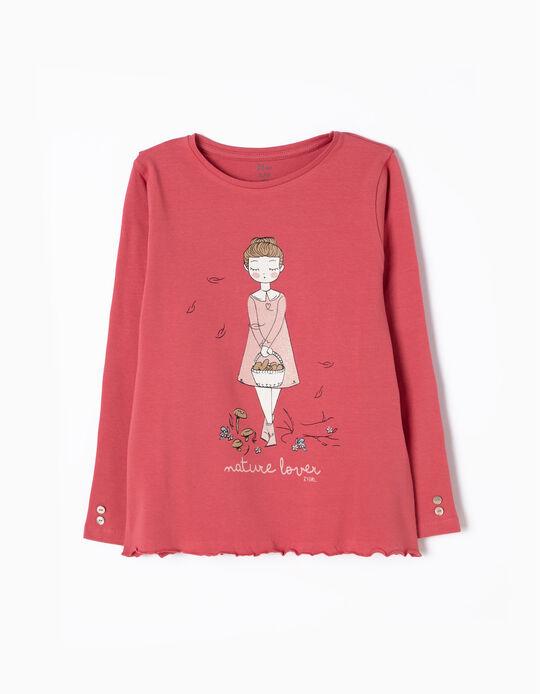 T-shirt Manga Comprida Nature Lover
