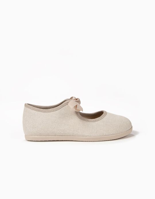 Ballerinas for Girls 'ZY Ballerina', Beige