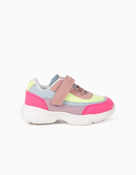 Zapatillas Chunky para Bebé Niña 'Superlight Runner', Multicolor