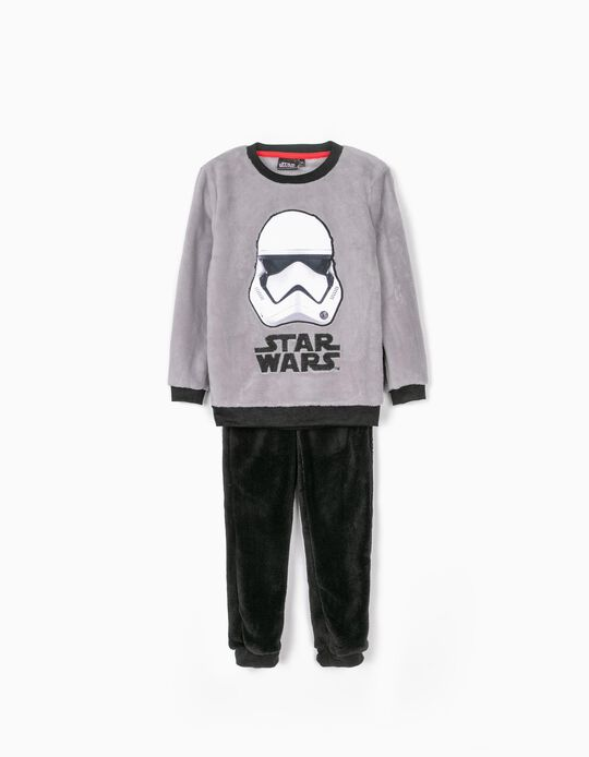 Pyjamas for Boys, 'Star Wars', Grey/Black