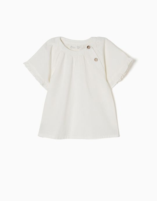 Blusa de Lino Blanca