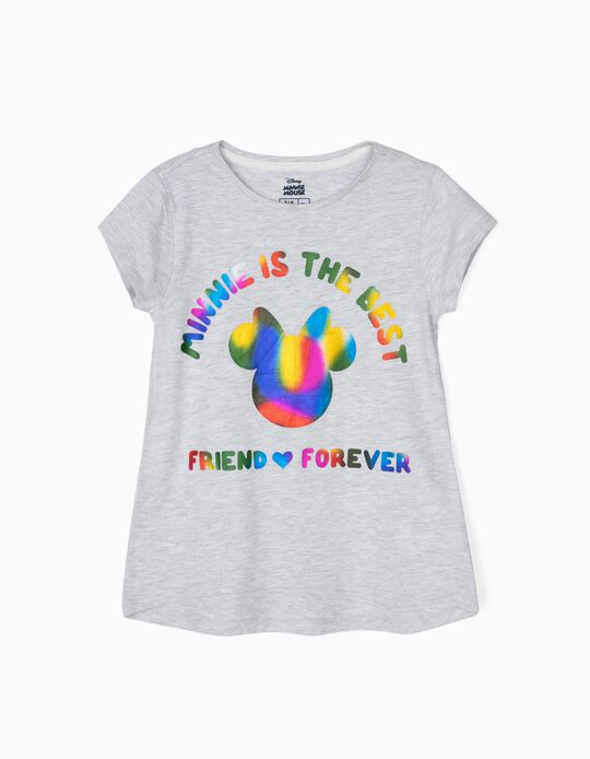 Camiseta para Niña 'Minnie BFF', Gris
