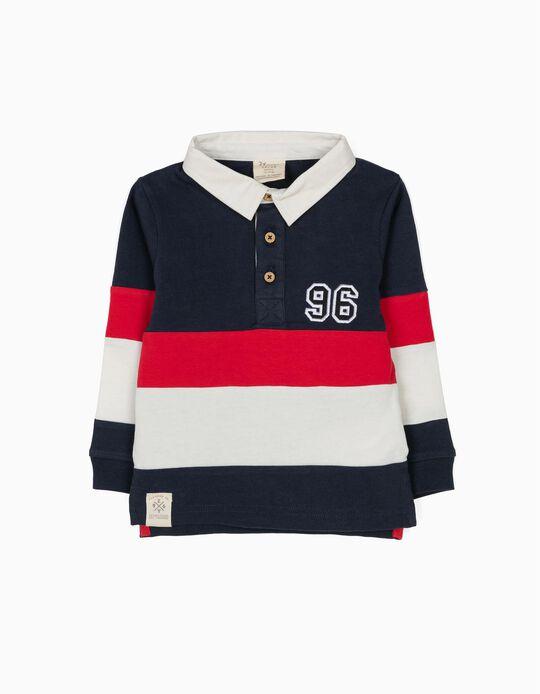 Polo para Bebé Menino 'Original NY', Tricolor