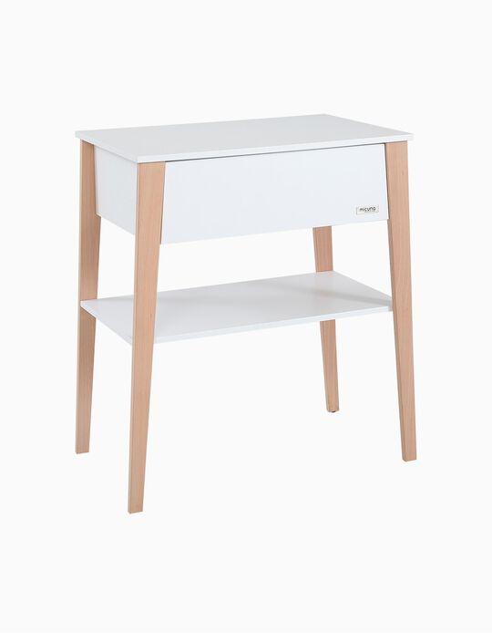 Mueble Cambiador Micuna Waterwood/Blanco