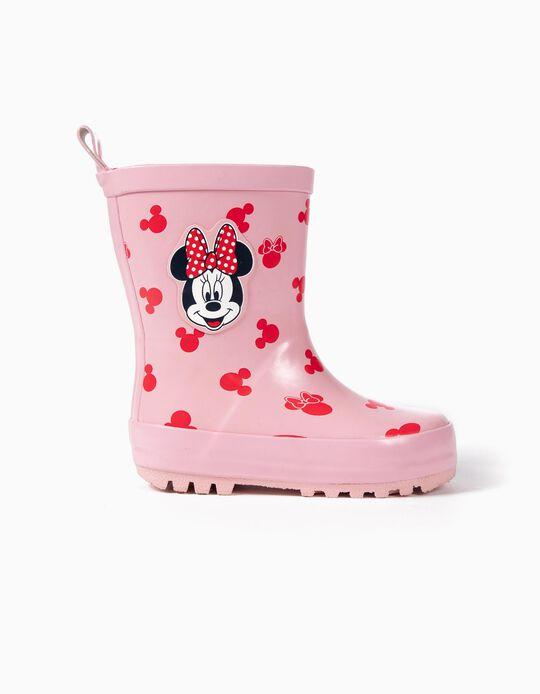 Galochas de Borracha para Bebé Menina 'Minnie', Rosa