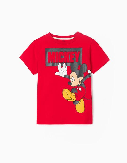Camiseta para Niño 'Mickey', Rojo