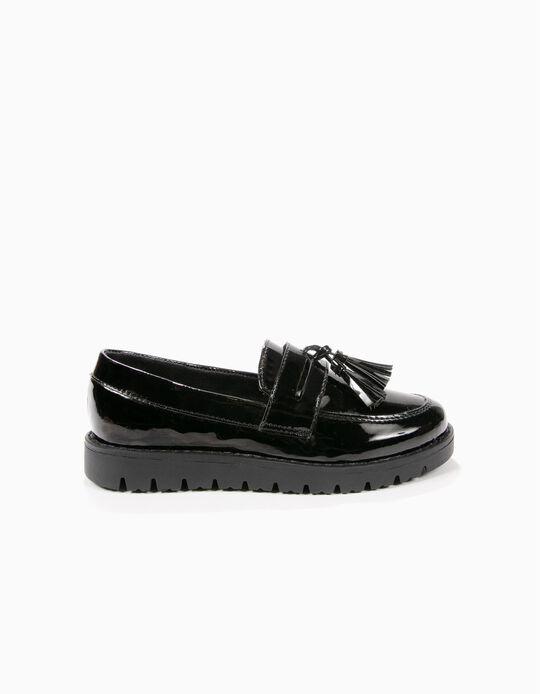 Sapatos Loafer com Borlas