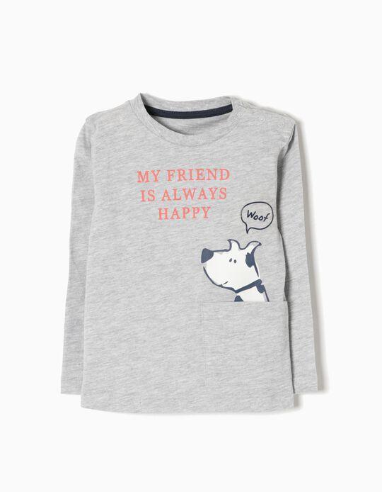 T-shirt Manga Comprida Woof